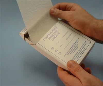 Hojas de Acetato para Huellas Dactilares 6x4 -50pk