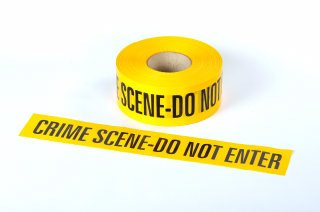 Cinta de Barrera - CRIME SCENE DO NOT ENTER 250M