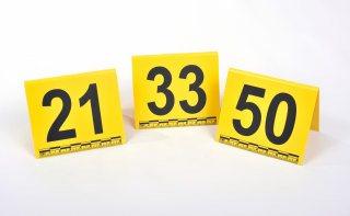 Marcadores para Evidencia Fotográfica Números 1 - 50