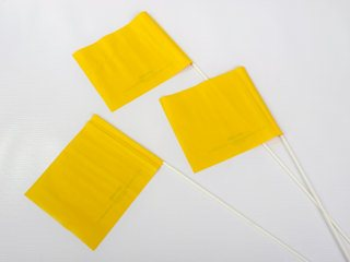 Banderas para la Escena del Crimen - Amarilo
