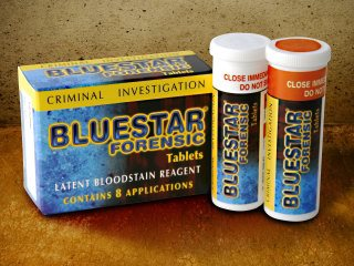 Tabletas para entrenamiento Forense Bluestar - 8pk