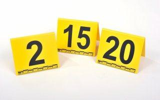 Marcadores para Evidencia Fotográfica Números 1-10
