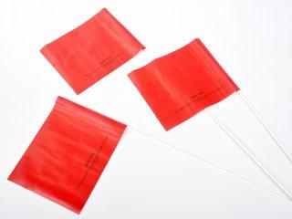 Banderas para la Escena del Crimen - Rojo
