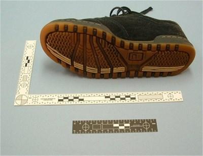 Escala para Zapato Forense
