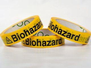Cinta Adhesiva - BIOHAZARD 25mm