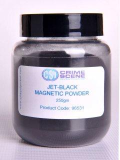 Polvo Magnético Jet Black 250gm