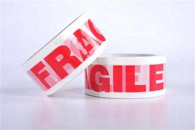 Cinta de Advertencia - FRAGILE