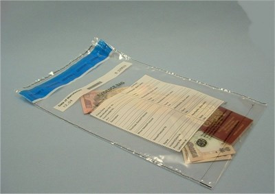 Tamper Evident Bags - Large (Non Police Use)