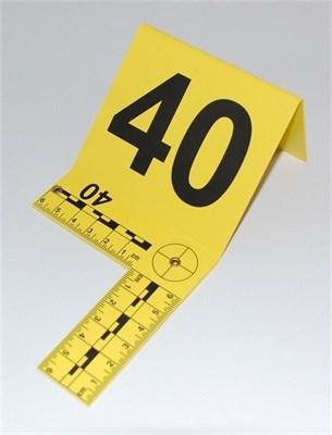 Marcadores para Evidencia Fotográfica - Escala Plegable 1 - 50